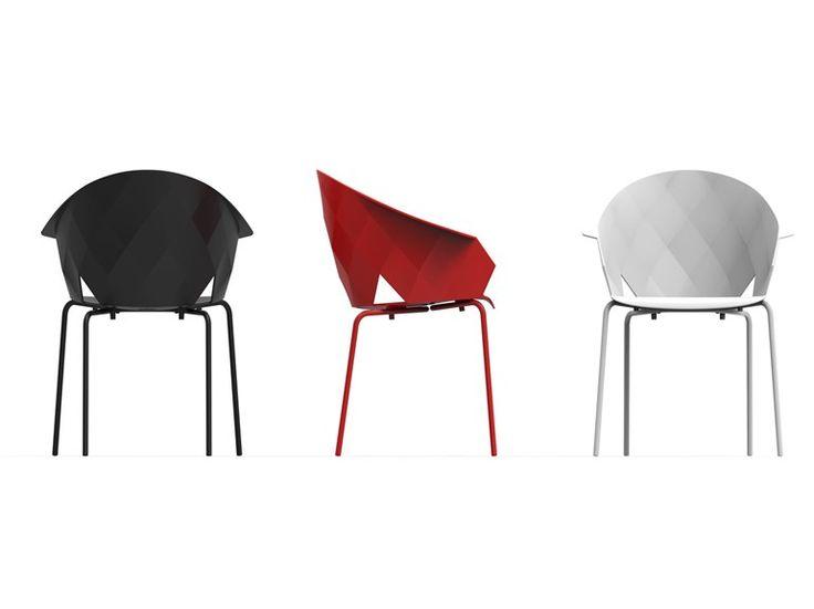 VASES Garden Chair Vases Collection By VONDOM Design EstudiHac