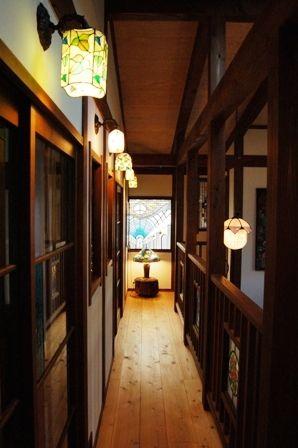 Taisho Romanticism style Japanese house. I can feel Ghibli world bit.