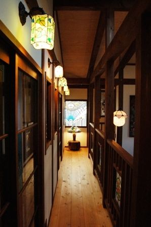 Taisho Romanticism style Japanese house. I can feel Ghibli world bit.