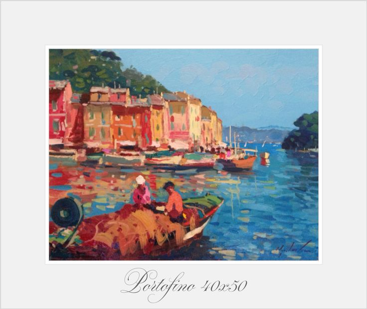 Portofino oil on canvas