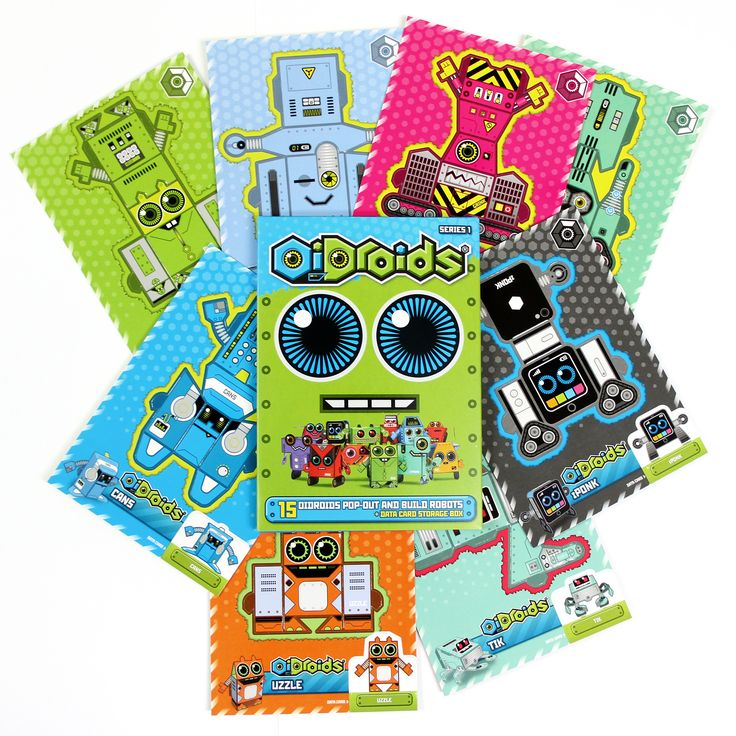 OiDroids latest Series 1 pack and cards