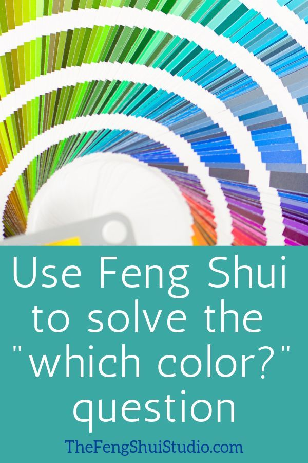Use Feng Shui To Help Ease Your Next Paint Color Selection