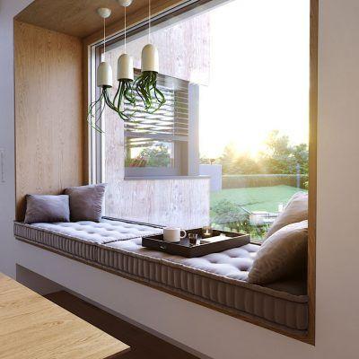 Fensternische bietet Ihnen Sitzplatz zu Gunsten von entspannte Zahlungsfrist aufschieben