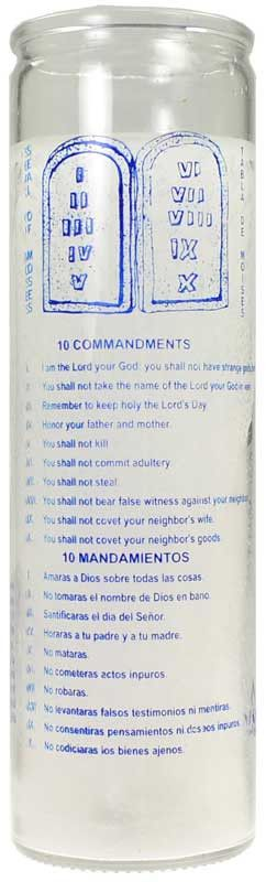 23rd Psalm 7 Day Jar Candle
