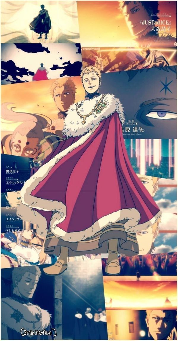 Rey Mago Jullius...☆ in 2020 (With images) Black clover