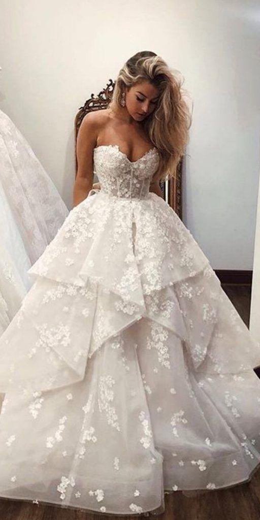 24 Spitze Ballkleid Brautkleider, die Sie lieben