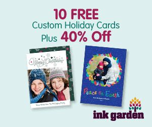 Photo Card Deal: 10 Customized Holiday Photo Cards for 4 dollars shipped!