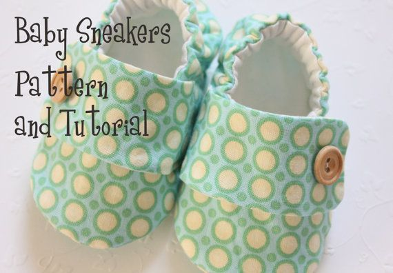 "Baby shoes on Etsy... ""Sew"" cute!"