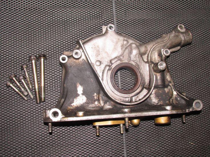 93 94 95 Honda Del Sol OEM B16 Engine Oil Pump