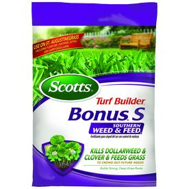 Scotts Bonus S Southern Weed And Feed 34.79-Lb 10000-Sq Ft 29-0-10  Lawn Fertilizer 33020