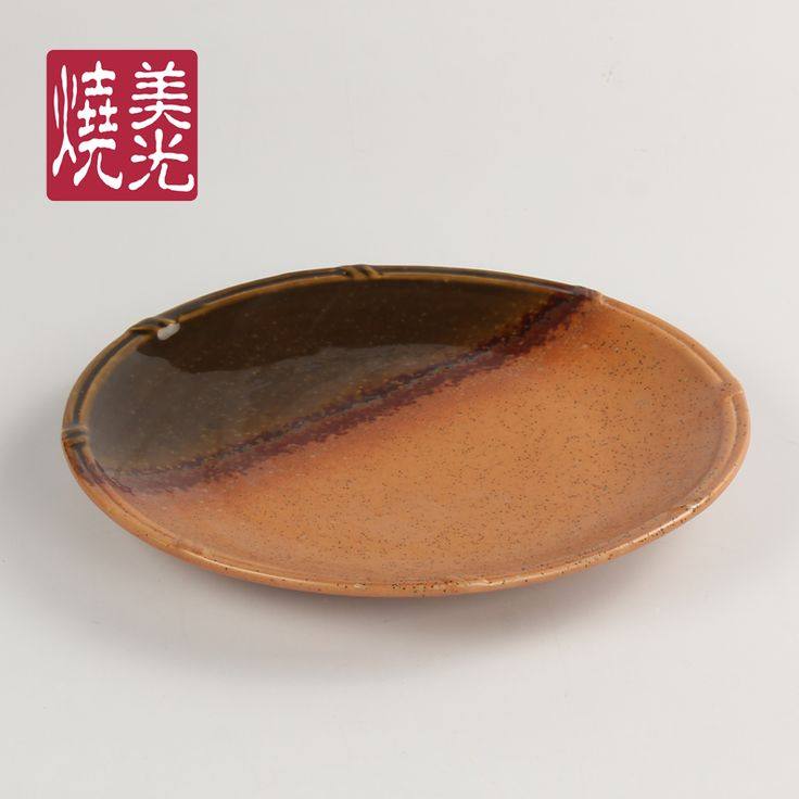 Japanese restaurant tableware&ceramic side&flat dinner plate E572-P-0249  Size: diameter 6 inch,9 inch,10 inch and 11.5 inch