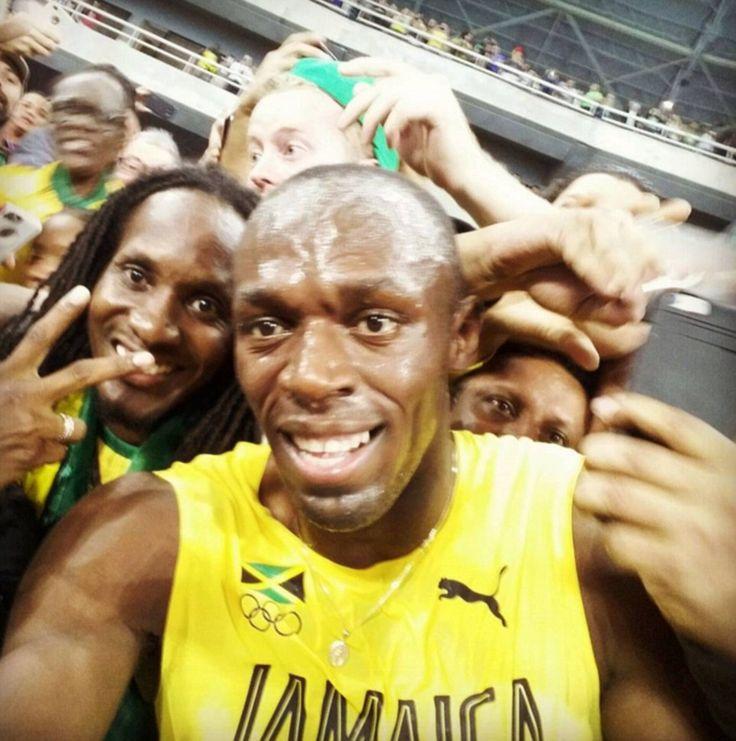 'My babbbbbbbbbyyyyyyyy!!!': Usain's Bolt's 'girlfriend' is delighted