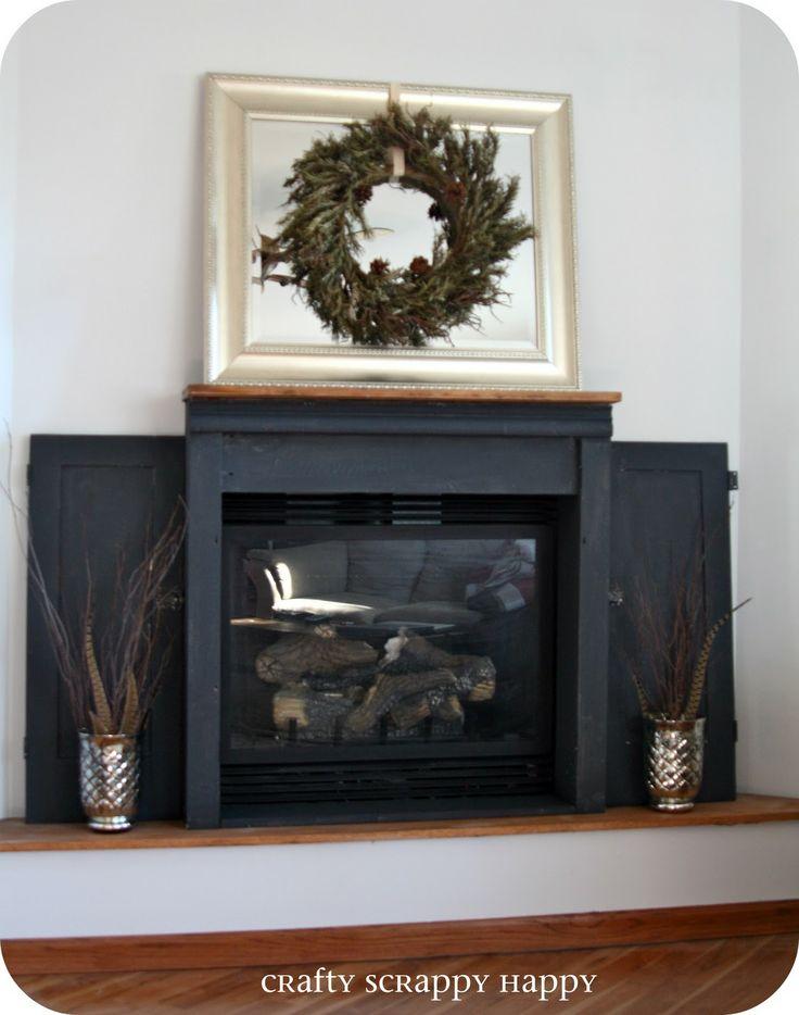 Annie Sloan Graphite Chalk Paint Fireplace   Google Search
