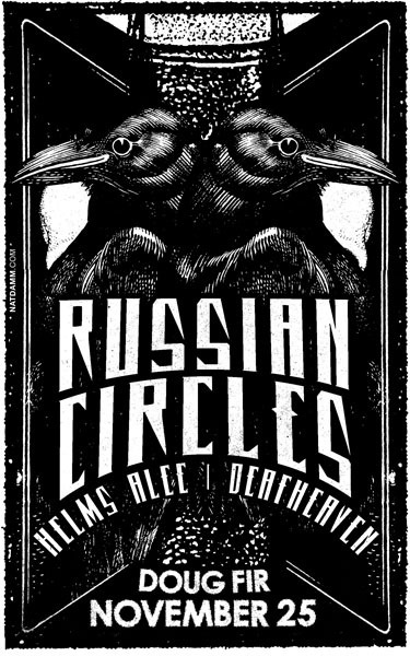 Russian circles by nat damm