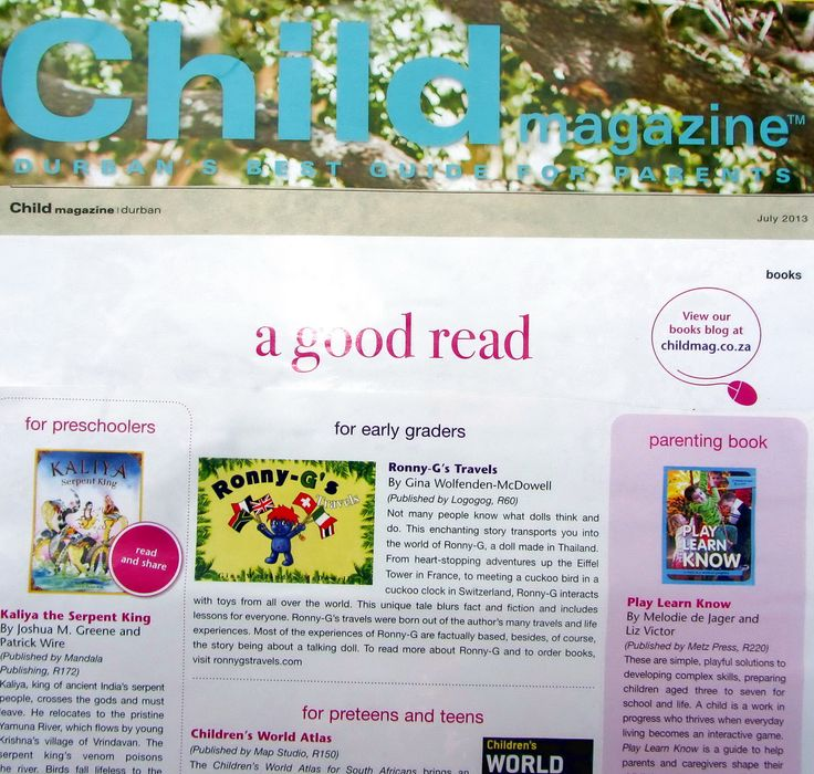 Child Magazine ~ July 2013