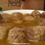 Albondigas (Spanish meatballs) Why go out for tapas when they are so easy (and cheap!) to make at home? The first recipe in an authentic Spanish tapa tour- albondigas!
