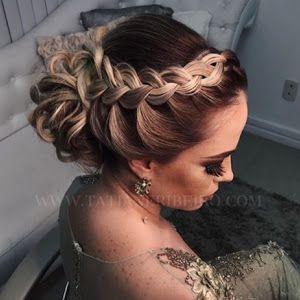 penteado de festa 2018