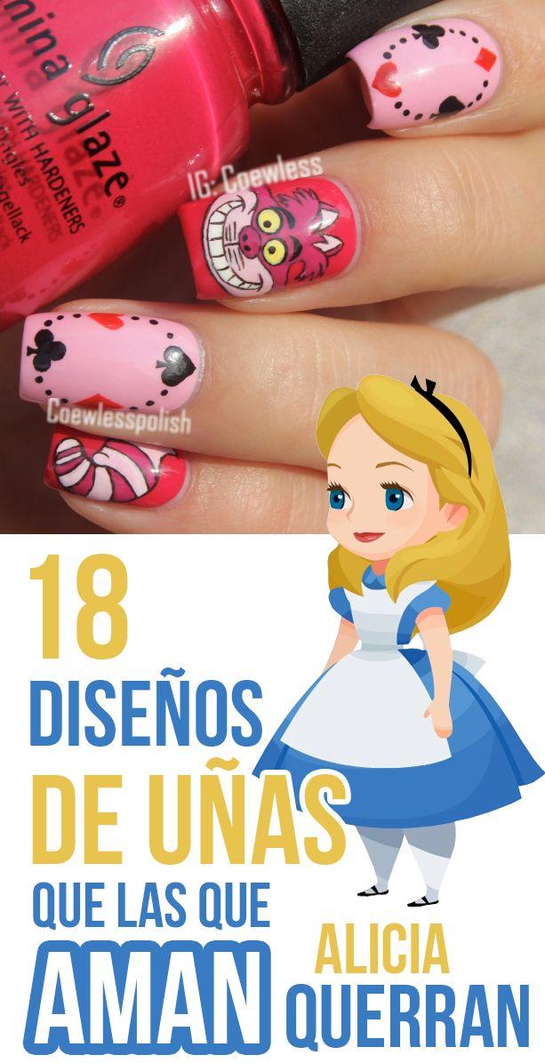 18 diseños de uñas que las que aman Alicia querrán #UñasdeAlicia