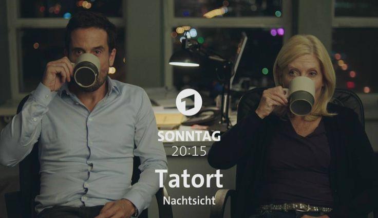"""Noch ermitteln sie zusammen ...  und zwar am Sonntag, 20:15 Uhr im Ersten!  Mehr zum """"Tatort: Nachtsicht"""": www.tatort.de"""