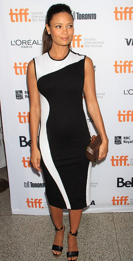 Thandie Newton Pregnant With Third Child! - Us Weekly