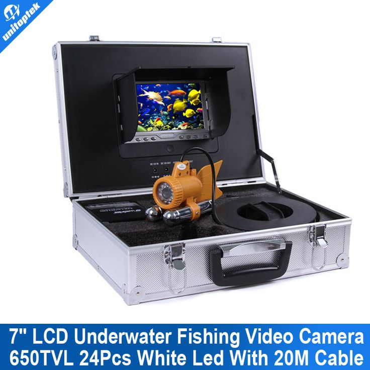 ==> [Free Shipping] Buy Best 7 inch TFT LCD Fishing Camera Kit Fish Finder HD SONY 650TVL CCD Underwater Video Camera System With white light 20m Cable Online with LOWEST Price   32262029376