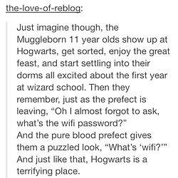 Muggleborn students at Hogwarts