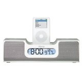 iHome iH5 Clock Radio and Speaker System for iPod (White) (Electronics)By iHome