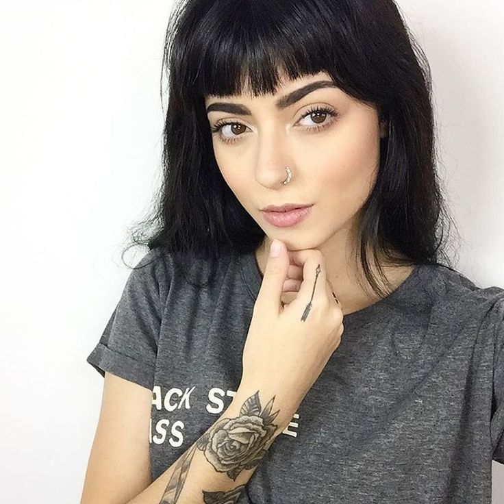 25 best ideas about Short Bangs Hairstyles on Pinterest