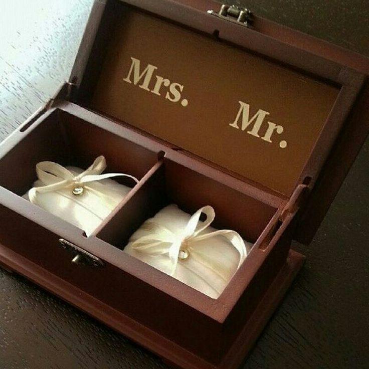 Cofre para aros de matrimonio