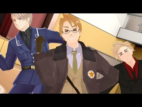 20 best images about Hetalia Awesome Trio on Pinterest Gilbert o