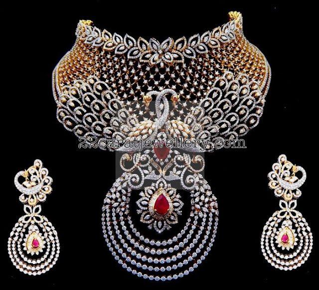 Tremendous Diamond Set by Kothari Jewelry