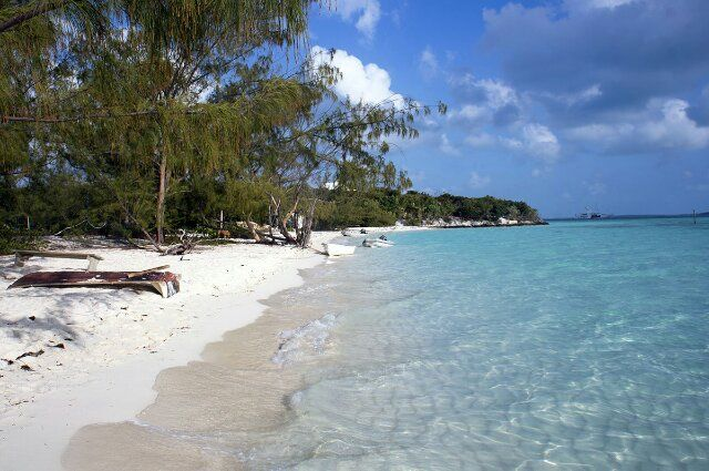 Volleyball beach, George Town, Great Exuma