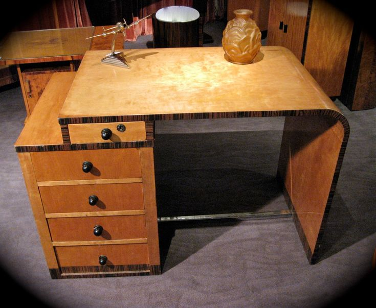 Best Art Deco Furniture Images On Pinterest Art Deco - Art deco furniture designers desks