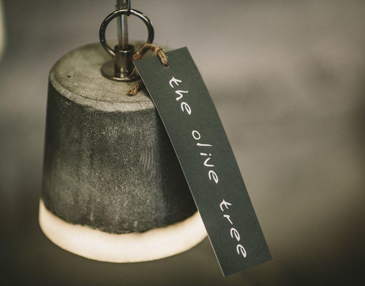 Our Benton concrete pendant available in 3 sizes