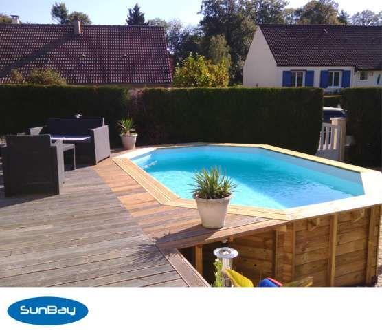 1000 id es sur le th me piscine bois enterr e sur for Local piscine semi enterree