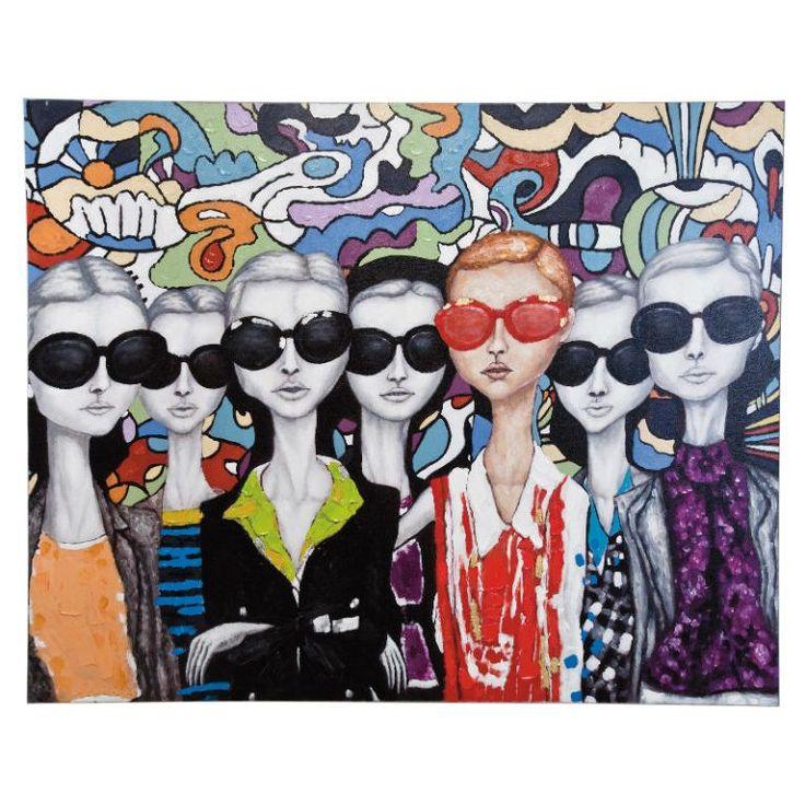 Πίνακας Ελαιογραφία Sun Glasses