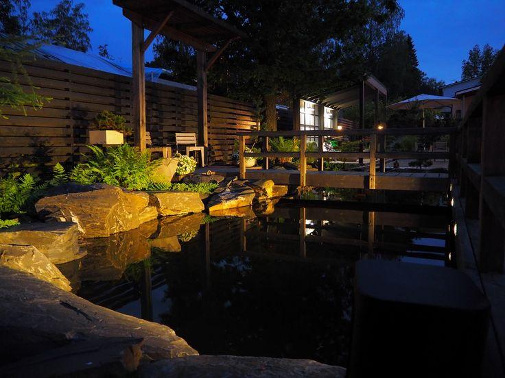 Aqua-Web • katso viestiketjua - Uusi Koi lampi ja puutarha