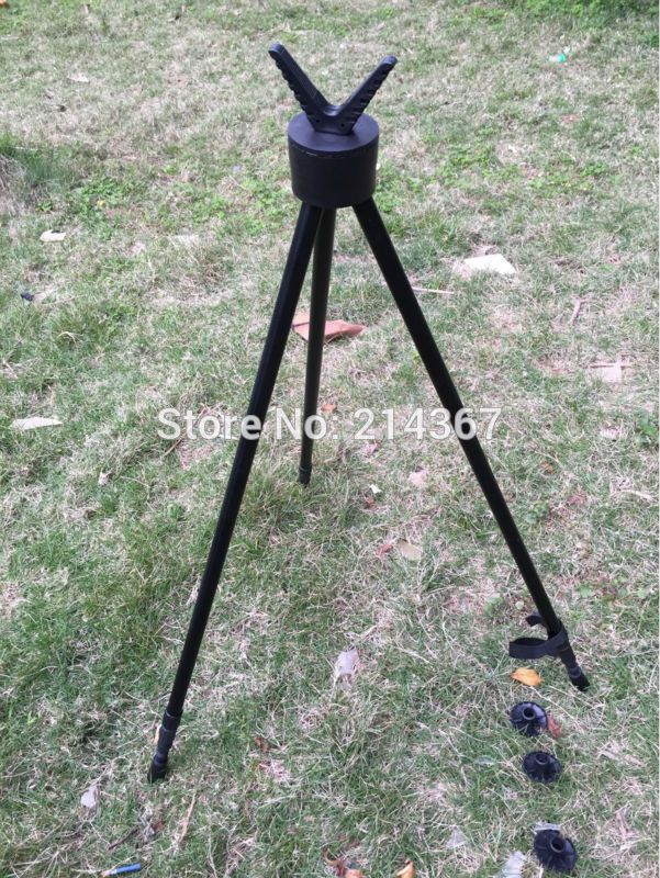 Professional Shooting Tripod Hunting Rifle Tripod Wild Game Tactical Tripod Stand Gun Rest Tripod Bipod Free Ship