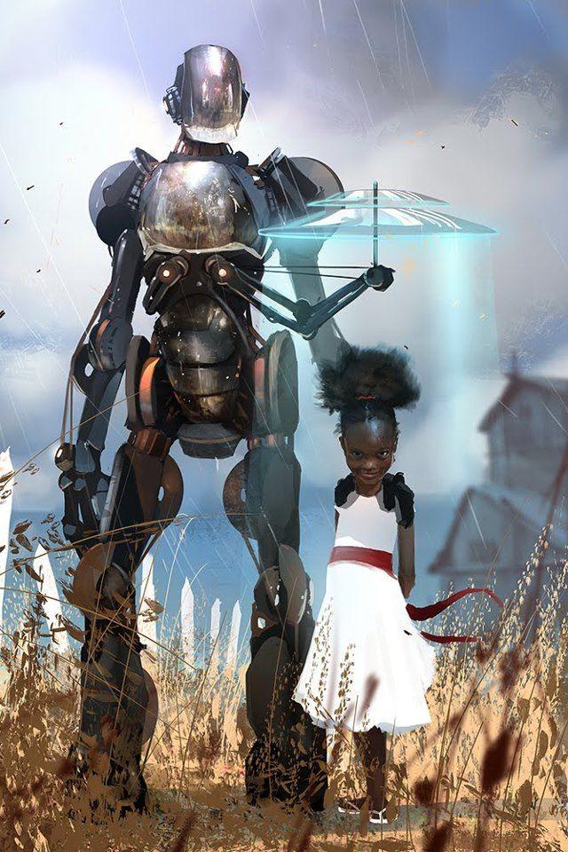 """sparaglipietro: """" """"Robo Guard"""", by Brenoch Adams. """""""
