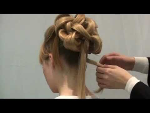Wedding Hair Style - Hair Up by Claire Wallace Style 1(Part of 'How to Style' Hair Series) - YouTube