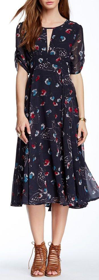 bonnie floral dress