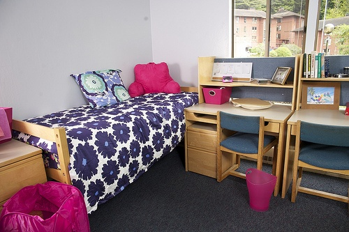 Decorating Ideas > Dorm, Comforter And Chevron On Pinterest ~ 232412_Pink And Purple Dorm Room Ideas