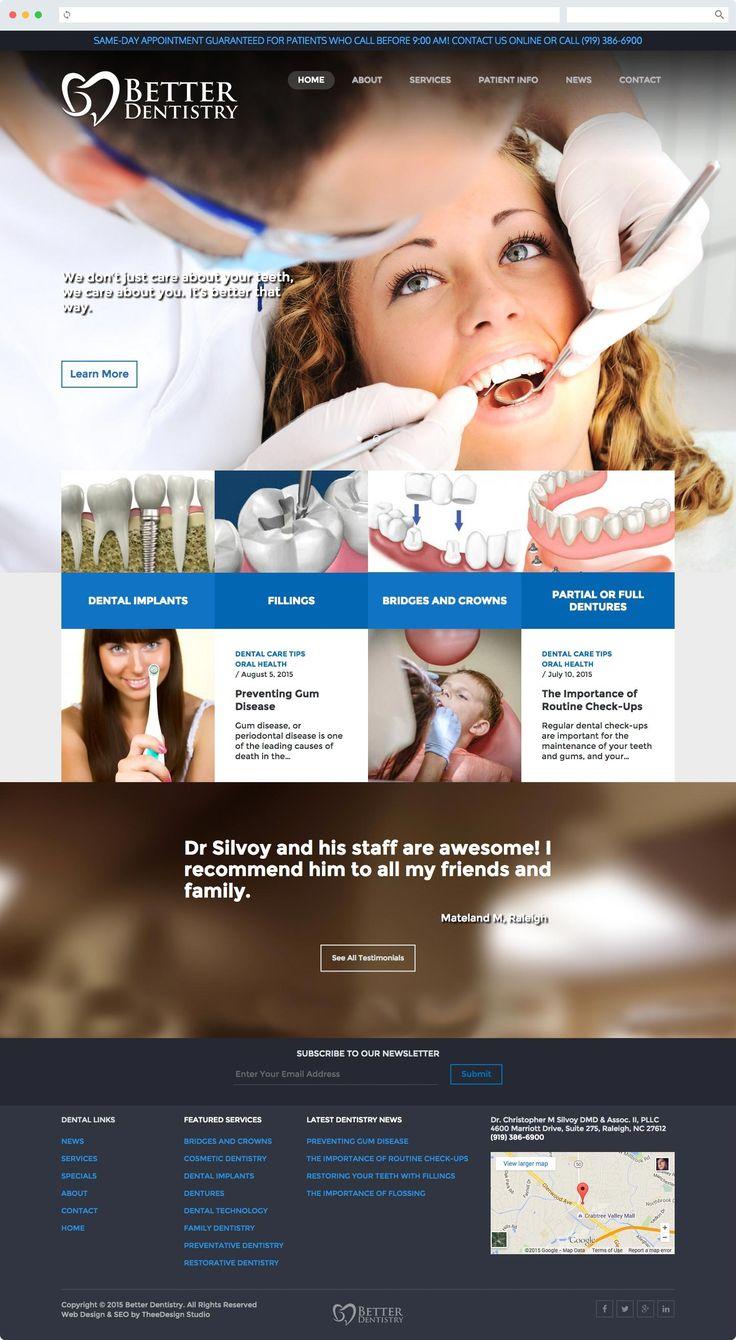 17 Best images about Cool Dental Website Designs on Pinterest ...