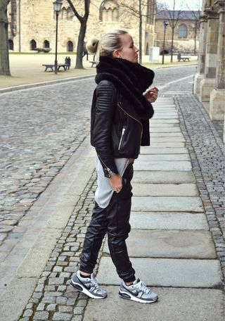 New leather pants | Andrea Clausen | Bloglovin
