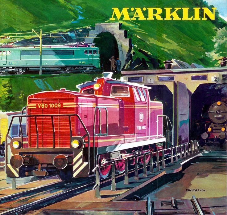 1963-64 Marklin catalogue