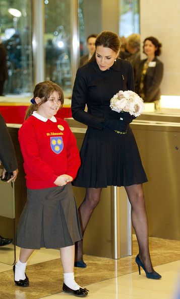 """""""Darling, that outfit is terrible. When they give you a skirt and it's too long you're allowed to roll the waist. That's like, Private School 101. #RoyalCaptionSlam #KateMiddleton"""