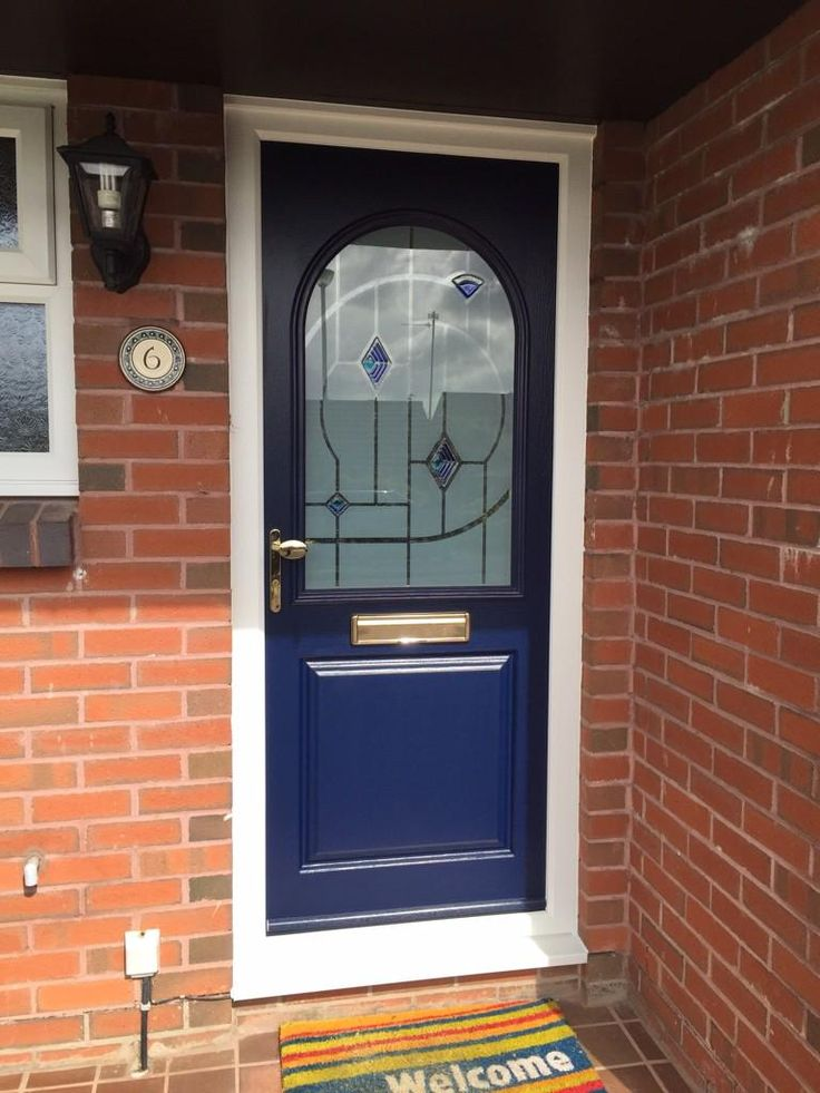 This Pelmo in French Navy looks like a true style icon! Design your dream Endurance door here; http://design.endurancedoors.co.uk/