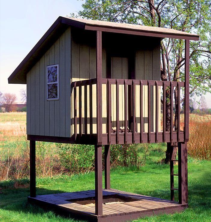 lofted tree-less house