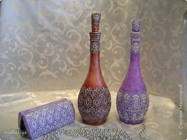 Декор предметов Декупаж Сицилийское кружево почти фото 1
