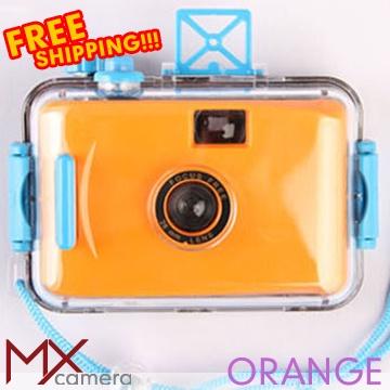 Waterproof Underwater 135 LOMO Toy Film Camera Orange